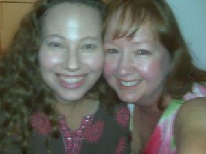 Carrie and Regina Mae